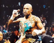 Floyd Mayweather Jr. Autographed 16x20 Photo Beckett BAS #V06968