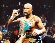 Floyd Mayweather Jr. Autographed 16x20 Photo JSA #WPP775522