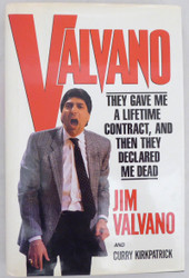 "Jim Valvano Autographed Book NC State Wolfpack ""To Josh, Thanks for having me on, My Best"" Beckett BAS #A34689"