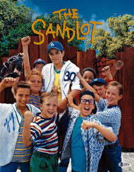 The Sandlot Autographed 11x14 Photo With 4 Signatures Beckett BAS Stock #181317