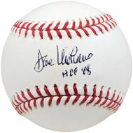 "Dave Niehaus Autographed Official MLB Baseball Seattle Mariners ""HOF 08"" Beckett BAS #V62845"