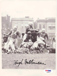 Hugh Gallarneau Autographed 6x8 Wire Photo Chicago Bears PSA/DNA #S28872