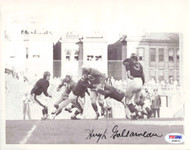 Hugh Gallarneau Autographed 7x9 Wire Photo Chicago Bears PSA/DNA #S28874