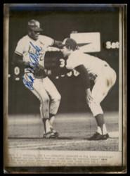 Bake McBride Autographed 8x11 AP Photo St. Louis Cardinals SKU #185468