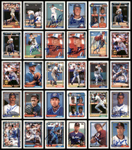 1992 Topps Baseball Autographed Cards Lot Of 114 SKU #185556