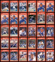 1990 Donruss Baseball Autographed Cards Lot Of 235 SKU #185582