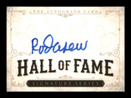 Rod Carew Autographed  Hall of Fame  Card Minnesota Twins, California Angels SKU #186803