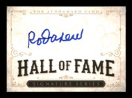Rod Carew Autographed  Hall of Fame  Card Minnesota Twins, California Angels SKU #186804
