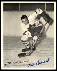 Bob Hassard Autographed 1945-54 Quaker Oats 8x10 Photo Toronto Maple Leafs Beckett BAS #Y92501