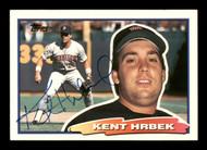 Kent Hrbek Autographed 1988 Topps Big Card #84 Minnesota Twins SKU #188113