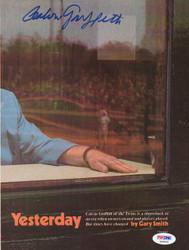 Calvin Griffith Autographed Magazine Page Photo Washington Senators PSA/DNA #S39060