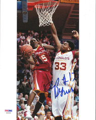Andrew Bynum Autographed 8x10 Photo Los Angeles Lakers PSA/DNA #S40050