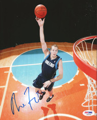 Nick Fazekas Autographed 8x10 Photo Dallas Mavericks PSA/DNA #S40260