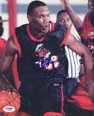 Al Jefferson Autographed 8x10 Photo Prentiss Bulldogs PSA/DNA #S40586