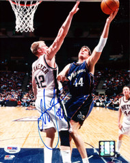 Christian Laettner Autographed 8x10 Photo Washington Wizards PSA/DNA #S40683