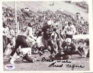 """Fred Negus Autographed 7x9 Wire Photo """"To John"""" PSA/DNA #S40789"""