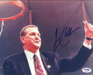 Jim Calhoun Autographed 8x10 Photo UConn Huskies PSA/DNA #S46330