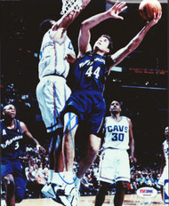 Christian Laettner Autographed 8x10 Photo Washington Wizards PSA/DNA #S46440
