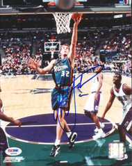 Christian Laettner Autographed 8x10 Photo Detroit Pistons PSA/DNA #S46442