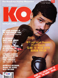 Alexis Arguello Autographed KO Boxing Magazine Cover PSA/DNA #S47273