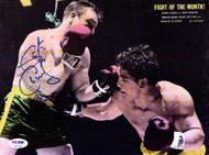 George Chuvalo Autographed Magazine Page Photo PSA/DNA #S47345