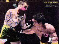 George Chuvalo Autographed Magazine Page Photo PSA/DNA #S47346