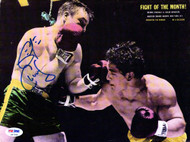 George Chuvalo Autographed Magazine Page Photo PSA/DNA #S47348
