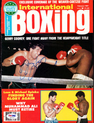 Gerry Cooney Autographed International Boxing Magazine Cover PSA/DNA #S47479