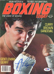 Gerry Cooney Autographed Boxing Today Magazine Cover PSA/DNA #S42145