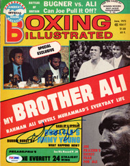 Joe Frazier Autographed Boxing Illustrated Magazine Cover PSA/DNA #S48449