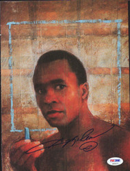 Sugar Ray Leonard Autographed Magazine Page Photo PSA/DNA #S49277