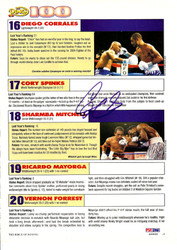 Diego Corrales Autographed Magazine Page Photo PSA/DNA #S48490