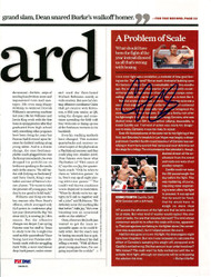 Diego Corrales Autographed Magazine Page Photo PSA/DNA #S48491