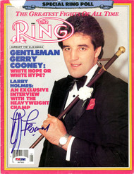 Gerry Cooney Autographed The Ring Magazine Cover PSA/DNA #S47506