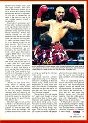 Diego Corrales Autographed Magazine Page Photo PSA/DNA #S47523