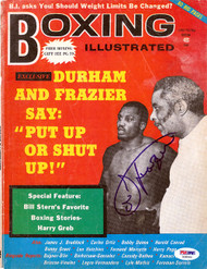 Joe Frazier Autographed Boxing Illustrated Magazine Cover PSA/DNA #S48966