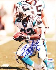 Fred Lane Autographed 8x10 Photo Carolina Panthers PSA/DNA #Q90426