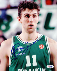 Andrea Bargnani Autographed 8x10 Photo PSA/DNA #S43749