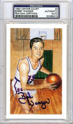 Bobby Wanzer Autographed HOF Postcard PSA/DNA #83386479