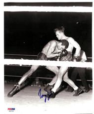 Tony Zale Autographed 8x10 Photo PSA/DNA #S50764