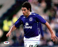 Nuno Valente Autographed 8x10 Photo Everton PSA/DNA #U54255