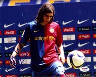 Jose Martin Caceres Autographed 8x10 Photo Barcelona PSA/DNA #U54261
