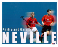 Phil Neville Autographed 8x10 Photo England PSA/DNA #U54304