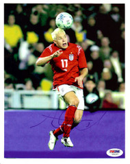 Alan Smith Autographed 8x10 Photo Manchester United PSA/DNA #U54327