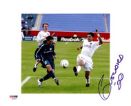 Amado Guevara Autographed 8x10 Photo Metro Stars PSA/DNA #U54362