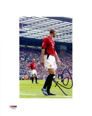 Rio Ferdinand Autographed 8x10 Photo Manchester United PSA/DNA #U54405