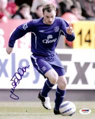 James McFadden Autographed 8x10 Photo Everton PSA/DNA #U54433