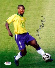 Gilberto Silva Autographed 8x10 Photo Brazil PSA/DNA #U54553