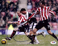 Wayne Bridge Autographed 8x10 Photo Chelsea PSA/DNA #U54706