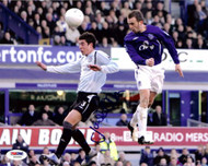 James McFadden Autographed 8x10 Photo Everton PSA/DNA #U54956